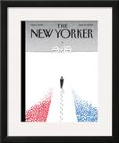 The New Yorker Cover - January 19, 2009 Framed Giclee Print by Guy Billout