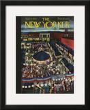 The New Yorker Cover - September 11, 1943 Framed Giclee Print by Ilonka Karasz