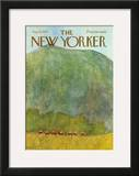 The New Yorker Cover - August 22, 1970 Framed Giclee Print by James Stevenson