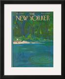 The New Yorker Cover - August 27, 1966 Framed Giclee Print by Arthur Getz