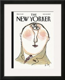 The New Yorker Cover - November 12, 2007 Framed Giclee Print by William Steig
