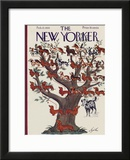 The New Yorker Cover - February 12, 1938 Framed Giclee Print by Constantin Alajalov
