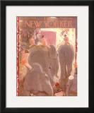 The New Yorker Cover - April 7, 1956 Framed Giclee Print by Garrett Price