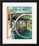 The New Yorker Cover - August 22, 1953 Framed Giclee Print by Arthur Getz