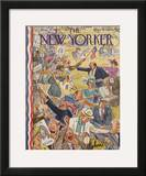 The New Yorker Cover - June 24, 1944 Framed Giclee Print by Perry Barlow