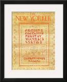 The New Yorker Cover - September 10, 1973 Framed Giclee Print by James Stevenson