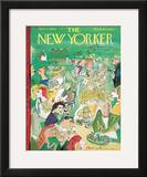 The New Yorker Cover - June 11, 1960 Framed Giclee Print by Ludwig Bemelmans