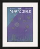 The New Yorker Cover - December 27, 1976 Framed Giclee Print by Eugène Mihaesco