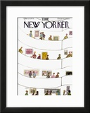 The New Yorker Cover - March 17, 1975 Framed Giclee Print by Laura Jean Allen