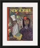 The New Yorker Cover - August 25, 1962 Framed Giclee Print by Ludwig Bemelmans