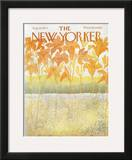 The New Yorker Cover - August 26, 1972 Framed Giclee Print by Ilonka Karasz