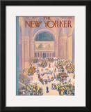The New Yorker Cover - July 7, 1934 Framed Giclee Print by Ilonka Karasz