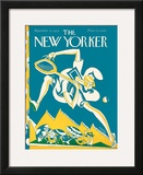 The New Yorker Cover - September 5, 1925 Framed Giclee Print by James Daugherty