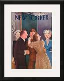The New Yorker Cover - April 15, 1944 Framed Giclee Print by William Cotton