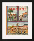 The New Yorker Cover - July 29, 1939 Framed Giclee Print by William Steig