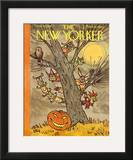 The New Yorker Cover - October 31, 1959 Framed Giclee Print by William Steig