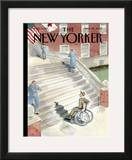 The New Yorker Cover - March 26, 2007 Framed Giclee Print by Barry Blitt
