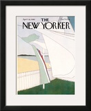 The New Yorker Cover - April 28, 1980 Framed Giclee Print by Gretchen Dow Simpson