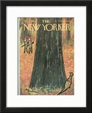 The New Yorker Cover - November 5, 1966 Framed Giclee Print by Abe Birnbaum