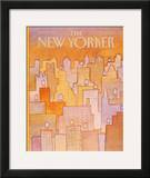 The New Yorker Cover - April 27, 1981 Framed Giclee Print by Lonni Sue Johnson