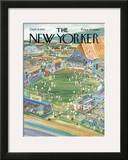 The New Yorker Cover - September 9, 1967 Framed Giclee Print by Anatol Kovarsky