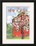 The New Yorker Cover - April 27, 1968 Framed Giclee Print by Abe Birnbaum