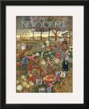 The New Yorker Cover - September 28, 1946 Framed Giclee Print by Ilonka Karasz