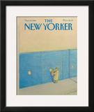 The New Yorker Cover - November 23, 1981 Framed Giclee Print by Eugène Mihaesco