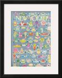 The New Yorker Cover - May 15, 1965 Framed Giclee Print by Anatol Kovarsky