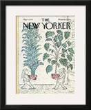 The New Yorker Cover - May 5, 1975 Framed Giclee Print by Edward Koren