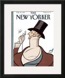 The New Yorker Cover - February 20, 1989 Framed Giclee Print by Rea Irvin