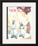 The New Yorker Cover - December 17, 2001 Framed Giclee Print by Barry Blitt