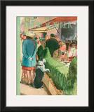 The New Yorker Cover - August 17, 1946 Framed Giclee Print by Garrett Price