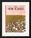 The New Yorker Cover - November 6, 1965 Framed Giclee Print by Ilonka Karasz