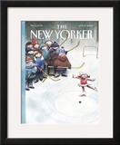 The New Yorker Cover - January 13, 2003 Framed Giclee Print by Carter Goodrich
