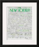The New Yorker Cover - April 21, 1973 Framed Giclee Print by Raymond Davidson