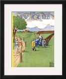 The New Yorker Cover - August 2, 1952 Framed Giclee Print by Peter Arno