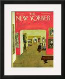 The New Yorker Cover - November 21, 1970 Framed Giclee Print by Laura Jean Allen