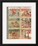 The New Yorker Cover - September 3, 1938 Framed Giclee Print by William Steig