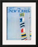 The New Yorker Cover - July 29, 1974 Framed Giclee Print by Garrett Price