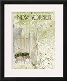 The New Yorker Cover - June 15, 1963 Framed Giclee Print by Garrett Price