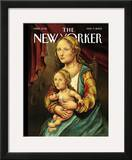 The New Yorker Cover - May 9, 2005 Framed Giclee Print by Anita Kunz