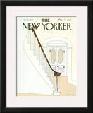 The New Yorker Cover - March 21, 1977 Framed Giclee Print by Gretchen Dow Simpson