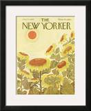 The New Yorker Cover - August 24, 1968 Framed Giclee Print by Ilonka Karasz
