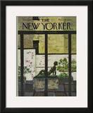 The New Yorker Cover - June 5, 1971 Framed Giclee Print by Laura Jean Allen