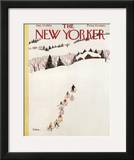 The New Yorker Cover - January 27, 1962 Framed Giclee Print by Susanne Suba