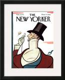 The New Yorker Cover - February 23, 1976 Framed Giclee Print by Rea Irvin