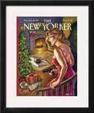 The New Yorker Cover - December 22, 1997 Framed Giclee Print by Owen Smith