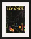 The New Yorker Cover - February 7, 1959 Framed Giclee Print by Robert Kraus