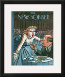 The New Yorker Cover - June 5, 1954 Framed Giclee Print by Peter Arno